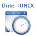 Convert Date & Time to Unix timestamp